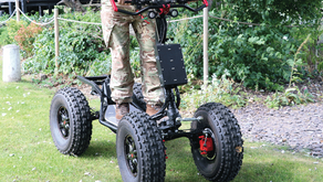 EZRAIDER 4×4 ELECTRIC-POWERED MOBILITY PLATFORM