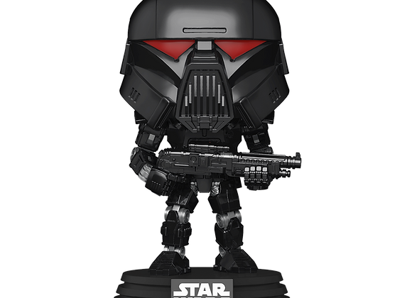 POP Star Wars: Mandalorian- Dark Trooper (Battle)