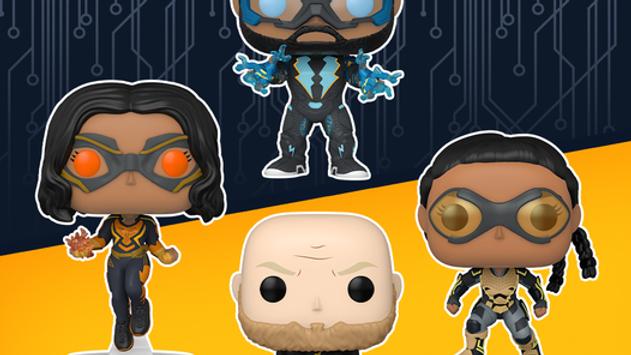 Pop! Heroes:  Black Lightning