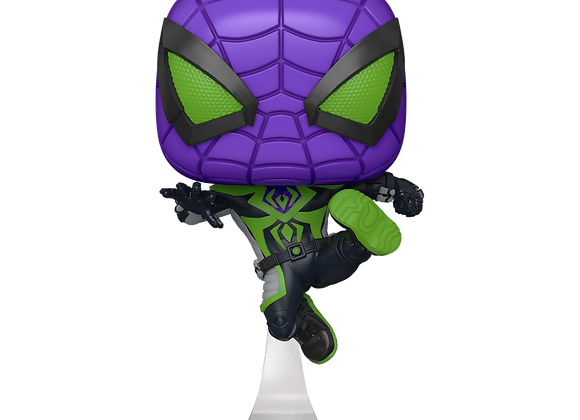 POP Games: Marvel's Spider-Man Miles Morales Miles (Purple Reign)