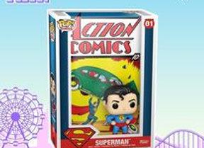 POP Vinyl Comic Cover: DC- Superman Action Comic