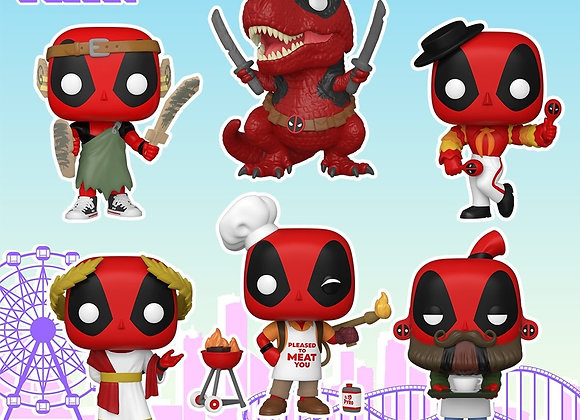 POP Marvel: Deadpool 30th Anniversary