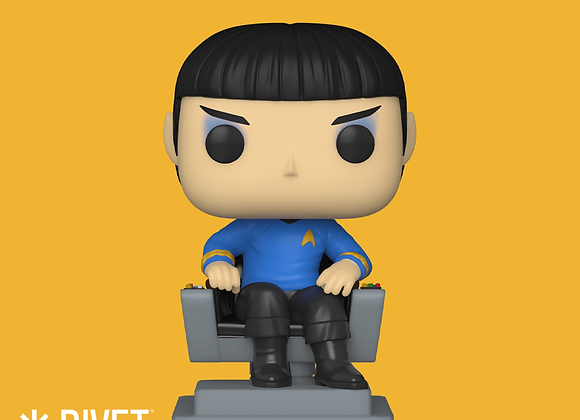 POP Television: Pops! with Purpose: (Youth Trust) - Spock in Chair