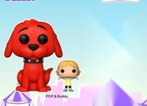 PopTV! Clifford The Big Red Dog w/ Emily