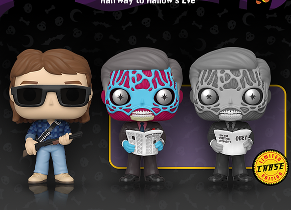 Pop! Movies - They Live Chase Set