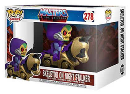POP Rides: MOTU- Skeletor w/Night Stalker