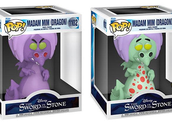 "POP Disney: Sword in the Stone- Super (6"") Madam Mim as Dragon w/Chase"