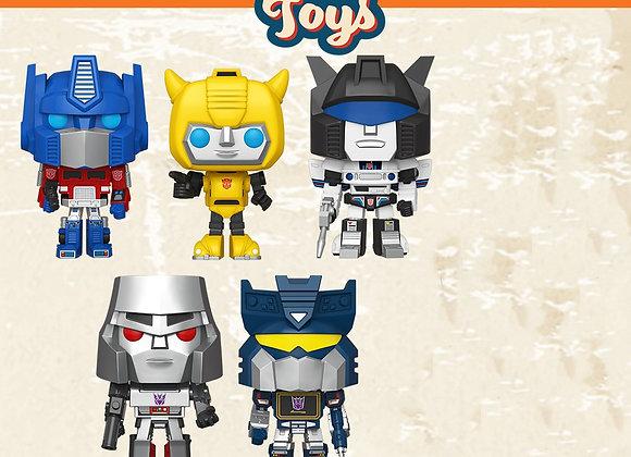 Pop! Vinyl: Retro Toys- Transformers