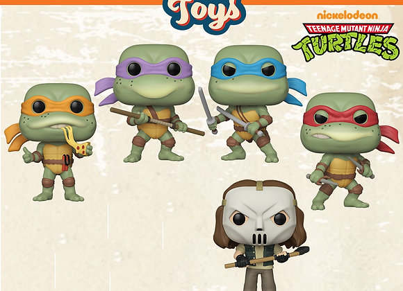 Pop! Vinyl: Retro Toys Wave 2 - TMNT Set 2nd Wave