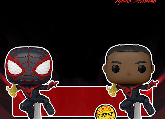 POP Games: Marvel's Spider-Man Miles Morales (Classic Suit) w/chase