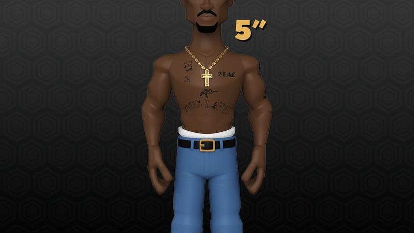 """Vinyl GOLD (5"""") -  Tupac Shakur"""