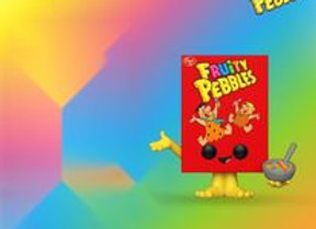 POP Funko: Post- Fruity Pebbles Cereal Box