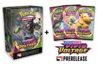 Pokémon TCG: Sword & Shield—Vivid Voltage Prerelease Bundle