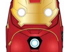 POP BY LF MARVEL IRONMAN LIGHT-UP MINI BACKPACK