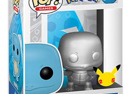 POP Games: Pokemon- Squirtle (Silver)