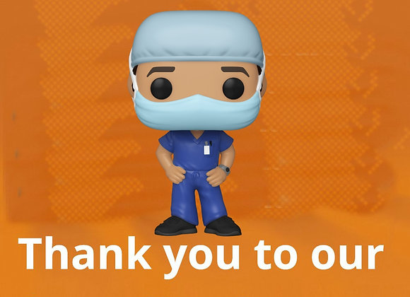 POP! HEROES - FRONT LINE WORKERS- MALE 1
