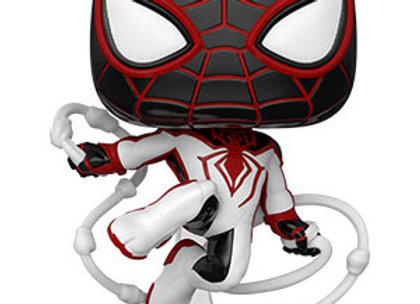 POP Games: Marvel's Spider-Man Miles Morales Miles (Track Suit)