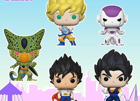 Funko Anime: Dragon Ball Z Set