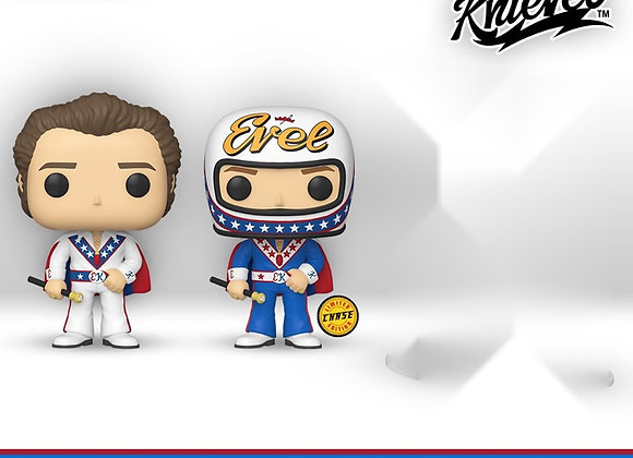 POP Icons: Evel Knievel wearing Cape w/Chase