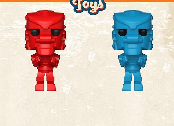 Pop! Vinyl: Retro Toys Wave 2 - Mattel- RockEmSockEm Robots