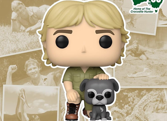 Pop! Television: Crocodile Hunter - Steve Irwin with Sui.