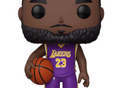 "POP NBA: Lakers - 10"" LeBron James(Purple Jersey)"