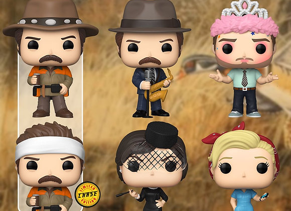 Pop! Television- Parks and Recreation CHASE Set