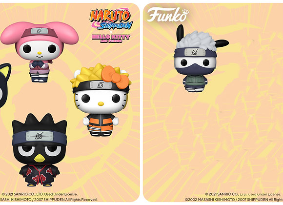 Pop! Animation - Hello Kitty x Naruto