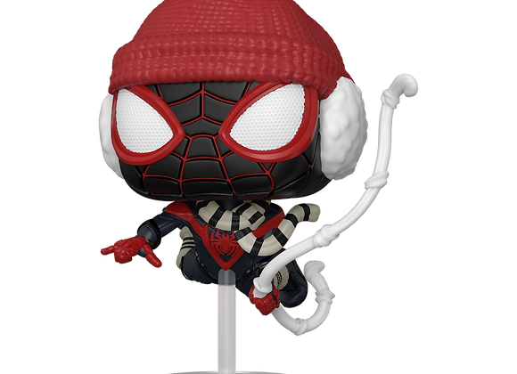 POP Games: Marvel's Spider-Man Miles Morales Miles (Winter Suit)