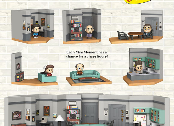 Funko Mini Moments- Seinfeld Chase Sets