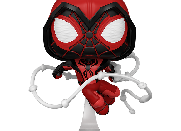 POP Games: Marvel's Spider-Man Miles Morales Miles (Crimson Cowl Suit)