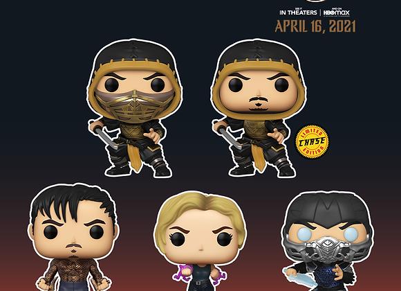 Pop! Movies: Mortal Kombat Chase Set