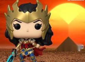 POP! HEROES: DC DEATH METAL WONDER WOMAN PREVIEWS EXCLUSIVE COMMON ONLY