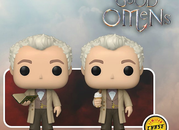 POP TV: Good Omens- Aziraphale with Book w/Chase