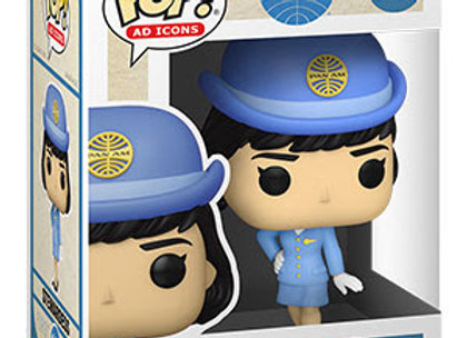 POP Ad Icons: Pan Am- Stewardess w/o Bag