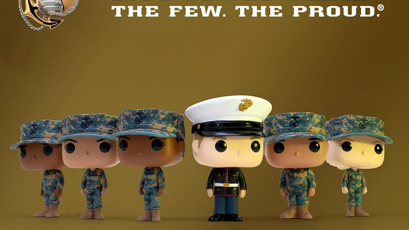 Pops! with Purpose - Marines