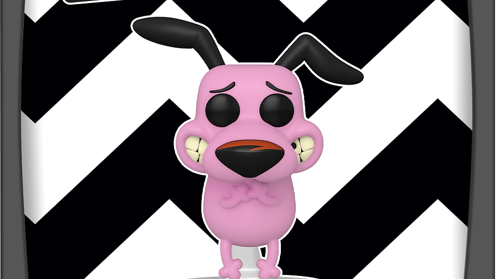 Pop! Animation-   Courage The Cowardly Dog