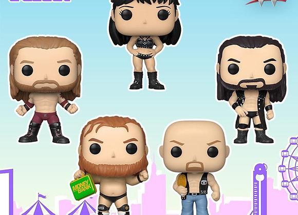 Funko WWE: Steve Austin and Crew