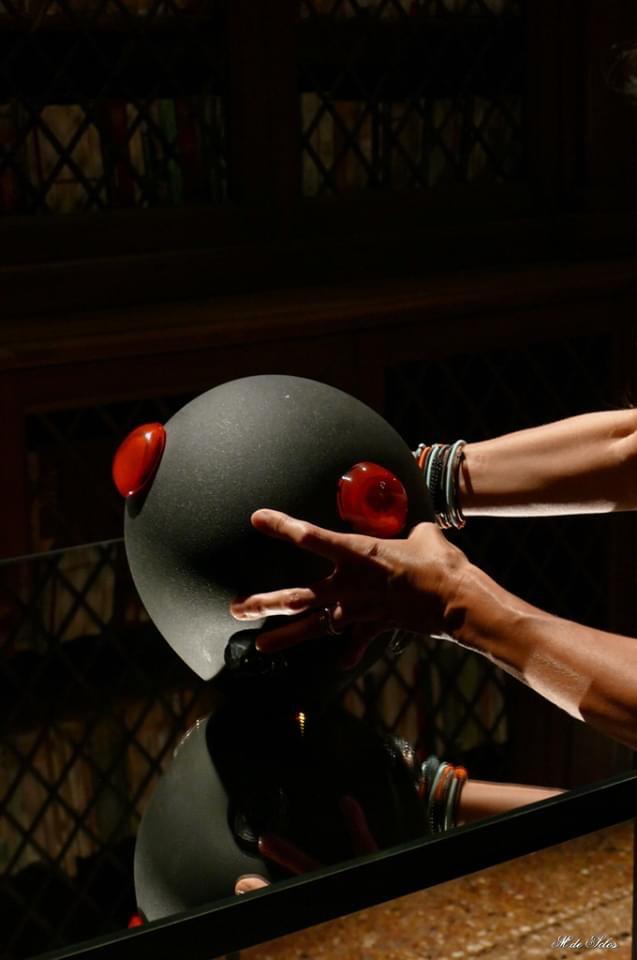 LUCE DIVINA à l'exposition Venice Glass Week, au PALAZZO LOREDAN de Venise