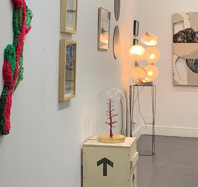 L'ARBRE QUI PLEURE Exposition Galerie Luc Revillon d'Apreval