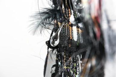 Lacrima / détail : goutte de verre