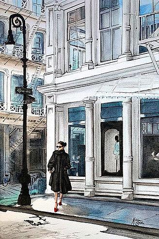 Street Class Watercolor_12x18_Final IV_E