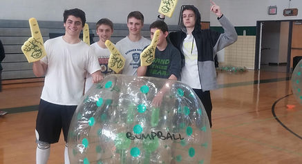 Newtown Middle Bubble Soccer Bumpball