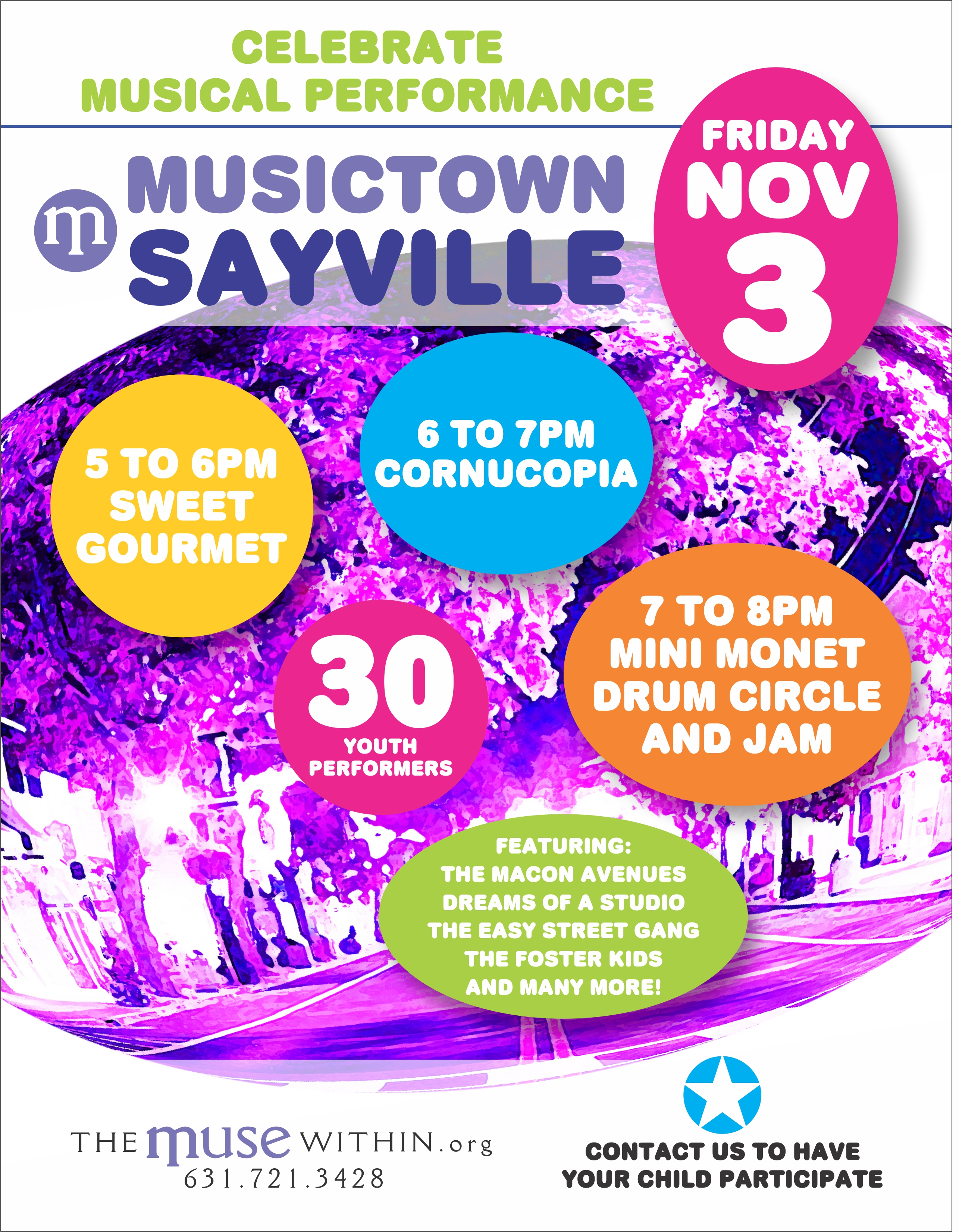 Musictown Sayville 2017