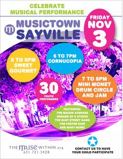 Musictown Sayville 2017