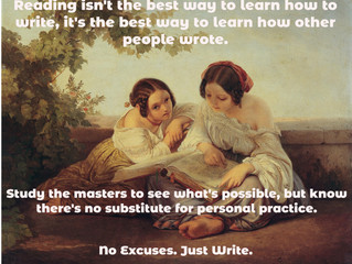 Reading to Write?