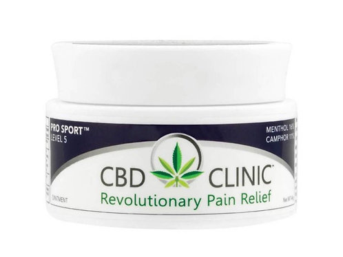 CBD Clinic Level 5: Pro Sport -- Hemp Oil Ointment **Top Seller**