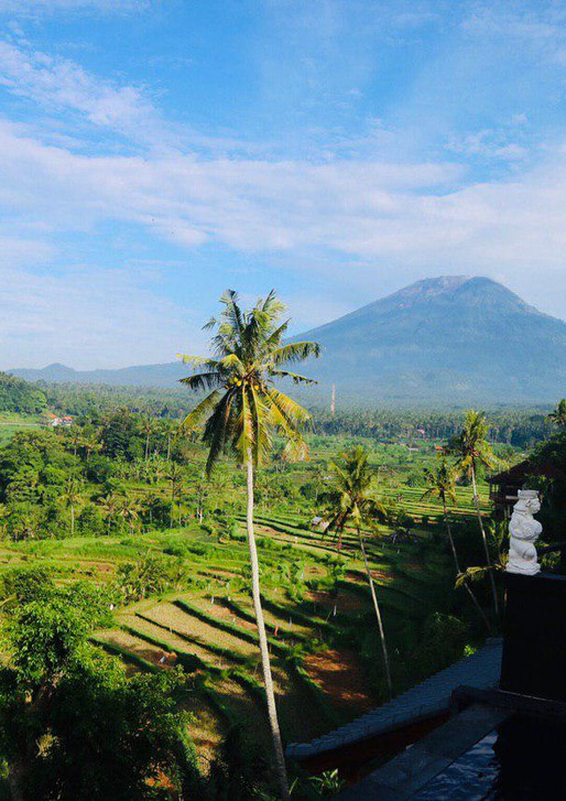 The best view of Bali.