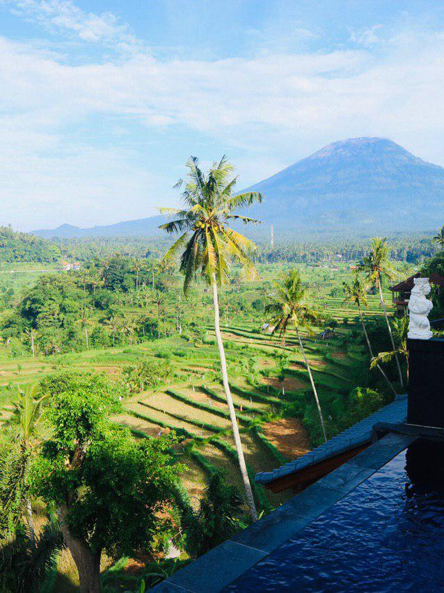 The best view of Bali!