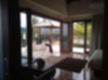 bedroom, terrace, gazebo
